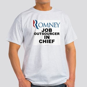 Anti Mitt Romney t-shirt Job Outsourcer in Chief