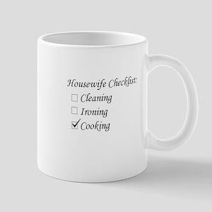 Housewife Checklist Mug