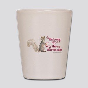 Squirrel Nut House Shot Glass