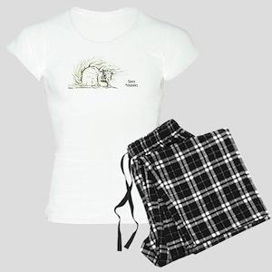 Gray Squirrel 13x6 Women's Light Pajamas