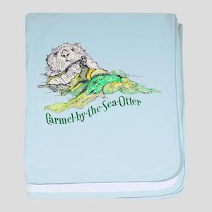 Carmel Sea Otter baby blanket