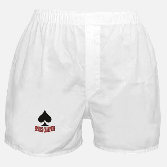 red spades champion Boxer Shorts