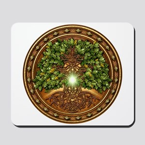 Sacred Celtic Trees - Oak Mousepad