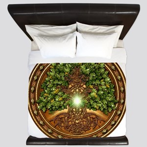 Sacred Celtic Trees - Oak King Duvet