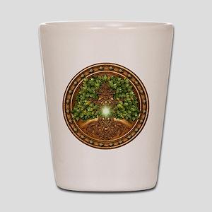 Sacred Celtic Trees - Oak Shot Glass