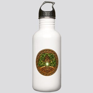 Sacred Celtic Trees - Oak Stainless Water Bottle 1