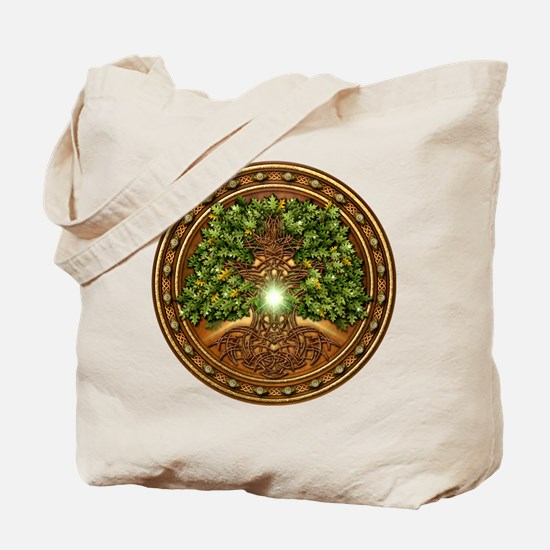 Sacred Celtic Trees - Oak Tote Bag