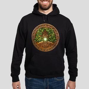 Sacred Celtic Trees - Oak Hoodie (dark)