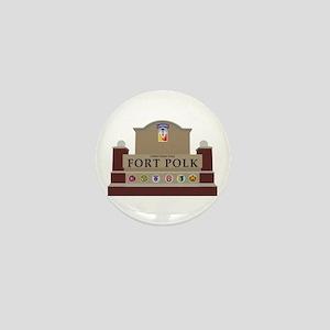 Fort Polk Mini Button