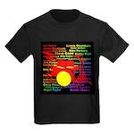 drum and drummer Kids Dark T-Shirt