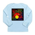 drum and drummer Long Sleeve Infant T-Shirt