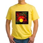 drum and drummer Yellow T-Shirt