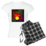 drum and drummer Women's Light Pajamas