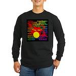 drum and drummer Long Sleeve Dark T-Shirt