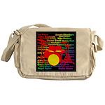 drum and drummer Messenger Bag
