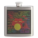 drum and drummer Flask