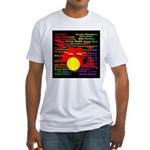 drum and drummer Fitted T-Shirt