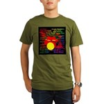 drum and drummer Organic Men's T-Shirt (dark)