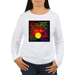 drum and drummer Women's Long Sleeve T-Shirt
