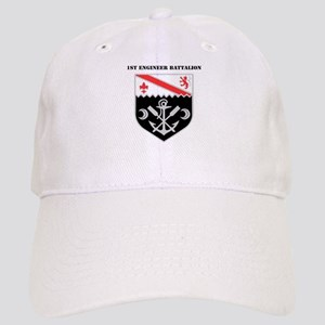 DUI - 1st Engineer Battalion with Text Cap