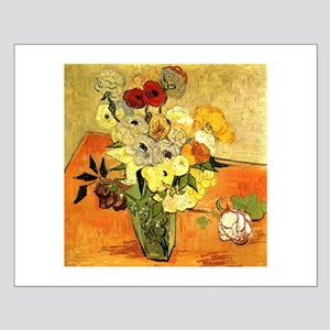 Van Gogh Roses And Anemones Small Poster