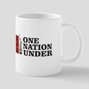 one nation under god liberty Mugs