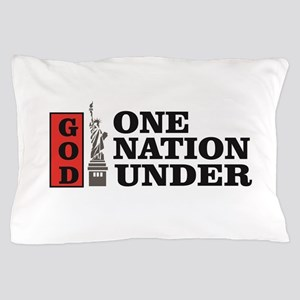 one nation under god liberty Pillow Case