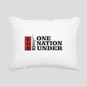 one nation under god lib Rectangular Canvas Pillow