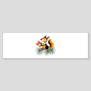Squirrel Sticker (Bumper)
