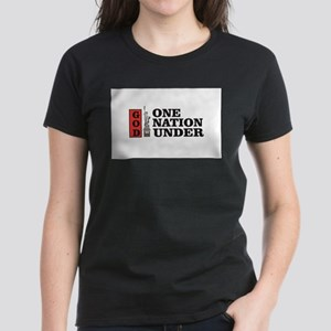 one nation under god liberty T-Shirt