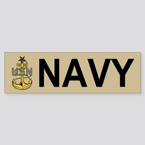 Senior Chief Petty Officer<BR> Bumper Sticker 3