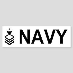 Senior Chief Petty Officer<BR> Bumper Sticker 2