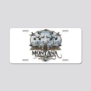 Montana wildlife Aluminum License Plate
