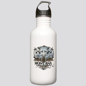Montana wildlife Stainless Water Bottle 1.0L