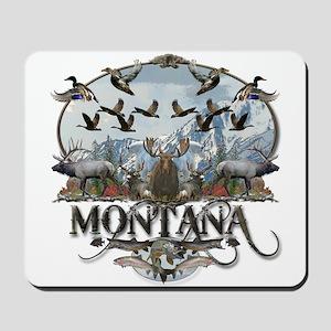 Montana wildlife Mousepad