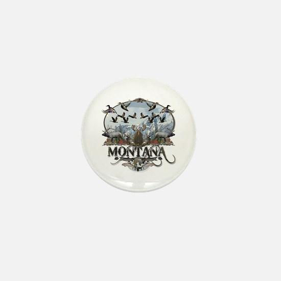 Montana wildlife Mini Button