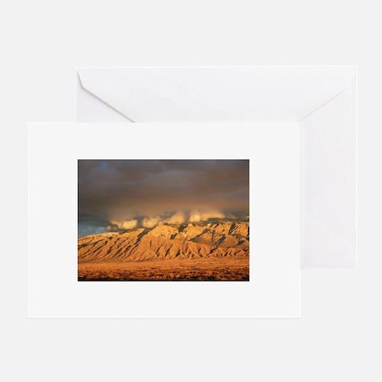 SandiaSunset.jpg Greeting Card