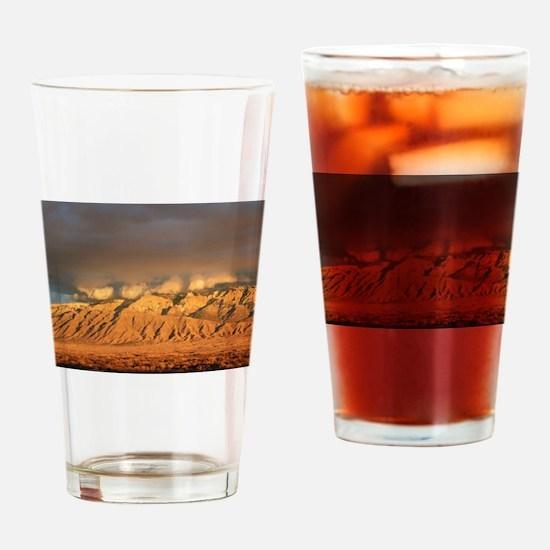 SandiaSunset.jpg Drinking Glass