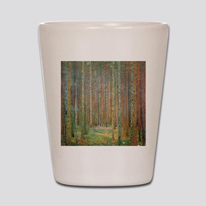 Gustav Klimt Pine Forest Shot Glass