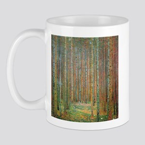 Gustav Klimt Pine Forest Mug