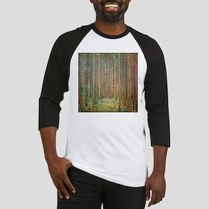 Gustav Klimt Pine Forest Baseball Jersey