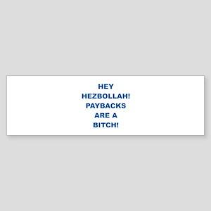Thank You Israel Bumper Sticker