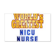World's Greatest NICU Nurse Wall Decal