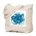 Atom Sea #19 Tote Bag