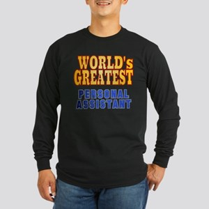 World's Greatest Personal Assistant Long Sleeve Da