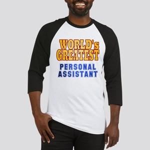 World's Greatest Personal Assistant Baseball Jerse