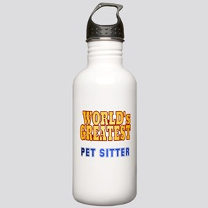 World's Greatest Pet Sitter Stainless Water Bottle