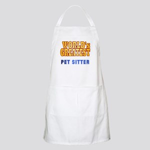 World's Greatest Pet Sitter Apron
