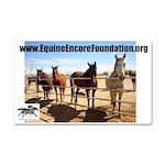 Equine Encore Foundation Car Magnet 20 x 12