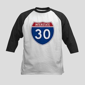 I-30 Highway Kids Baseball Jersey